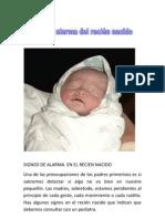 Signos de Alarma en El Recien Nacido - Copia