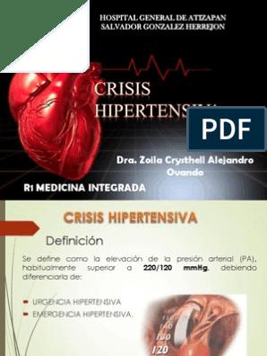Nicardipino por goteo medicina de emergencia hipertensiva