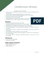 MPP Curriculum-SGPP Indonesia