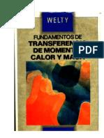 Welty - Fundamentos de Transferencia Momento Calor y Masa