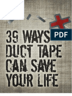 39 Ways+ Duct Tape Can Save Your Life