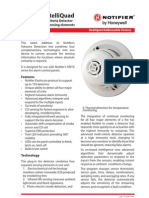 Notifier FSC851 Intelliquad Multi Fire Detector