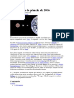 Redefinición de planeta de 2006