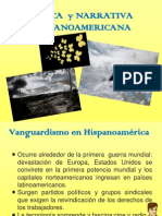 Vanguardia y Literatura Hispanoamericana