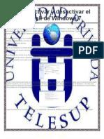 Como Activar y Desactivar El Firewall de Windows 7