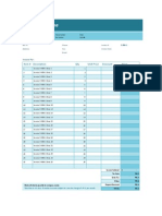 Project Invoice Tracking Template1