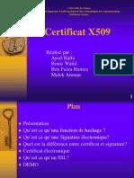 Presetation Certificat x.509