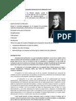 Idealismo Pedagogico de Immanuel Kant