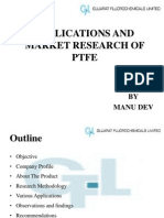 Applications and Market Research of Ptfe