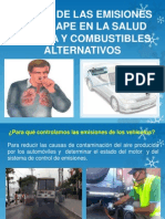 Emisiones de Vehiculos y GLP