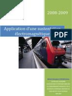 sustentation électromagnétique