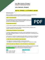 ARRANCA EL RUNT Declaración de Automovil