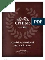 Cp Him s Candidate Handbook
