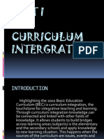 Unit1(Integrationcurriculum)