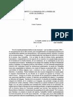 El laberinto y la paradoja en la poesía de Juan Calzadilla - Lubio Cardozo Artículo