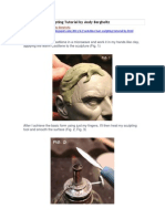 Casteline Hair Sculpting Tutorial by Andy Bergholtz