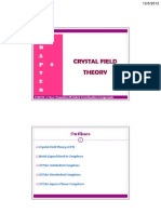 Chapter 8 Crystal Field Theory
