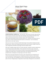 Unik Dan Sehatnya Nasi Ungu