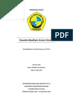 LAPORAN KASUS - Sinusitis Maxillaris Duplex - Dr. Santo