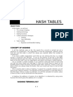 Hash Tables