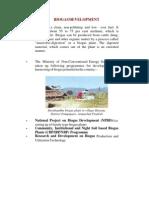 Biogas Development