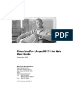Cisco IronPort AsyncOS 7.1.0 User Guide for Web Security Appliances