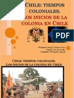 Chile, Tiempos Coloniales Clase 1