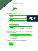 OM HR Processes