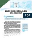 9. Sumber Energi, Kegunaan Dan Cara Menghemat