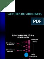 3 Factores de Virulencia