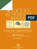 manual de técnicas básicas para un laboratorio de salud OMS 2º edición 2003 en castellano