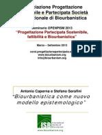 Biourbanistica come nuovo modello epistemologico, Antonio Caperna & Stefano Serafini (in Italian)