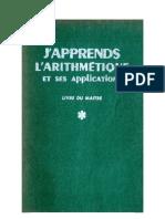 Mathématiques Classiques Condeveaux 07 J'apprends L'Arithmétique Livre du Maitre