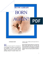 Are You Already Born Again?