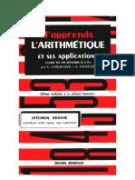 Mathématiques Classiques Condeveaux 06 J'apprends l'Arithmétique et ses Applications Certificats d'Etudes