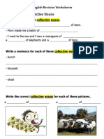 English Revision Worksheets Nour Majd