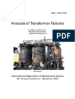 Analysis of Transformer Failures - ( by William Bartley; 2003 )