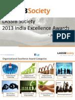 2013 LASSIB Society India Excellence Awards