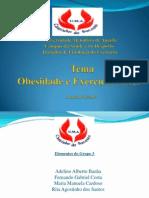 Apresentação POWER POINT obesidade  RITA