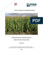 Sweet Corn Production and Processing Guide for Moldova Ro