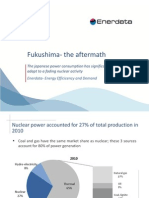 Fukushima the Aftermath Enerdata Study