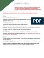 2010 Probing Manual