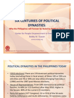 CenPEG Tuazon 6 Centuries of Dynasties 12 10 12