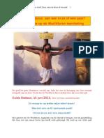 Hoe stierf Jezus, aan een kruis of een paal