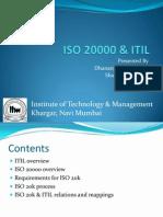 ISO 20000 & ITIL v3