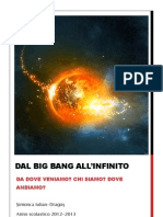 tesina big bang all'infinito