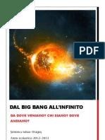 tesina big bang all'infinito