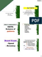 PSAE Math Reviewer