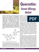 Quercetin Sweet Allergy Relief
