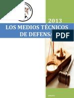 Los Medios Tecnicos de Defensa Expoc